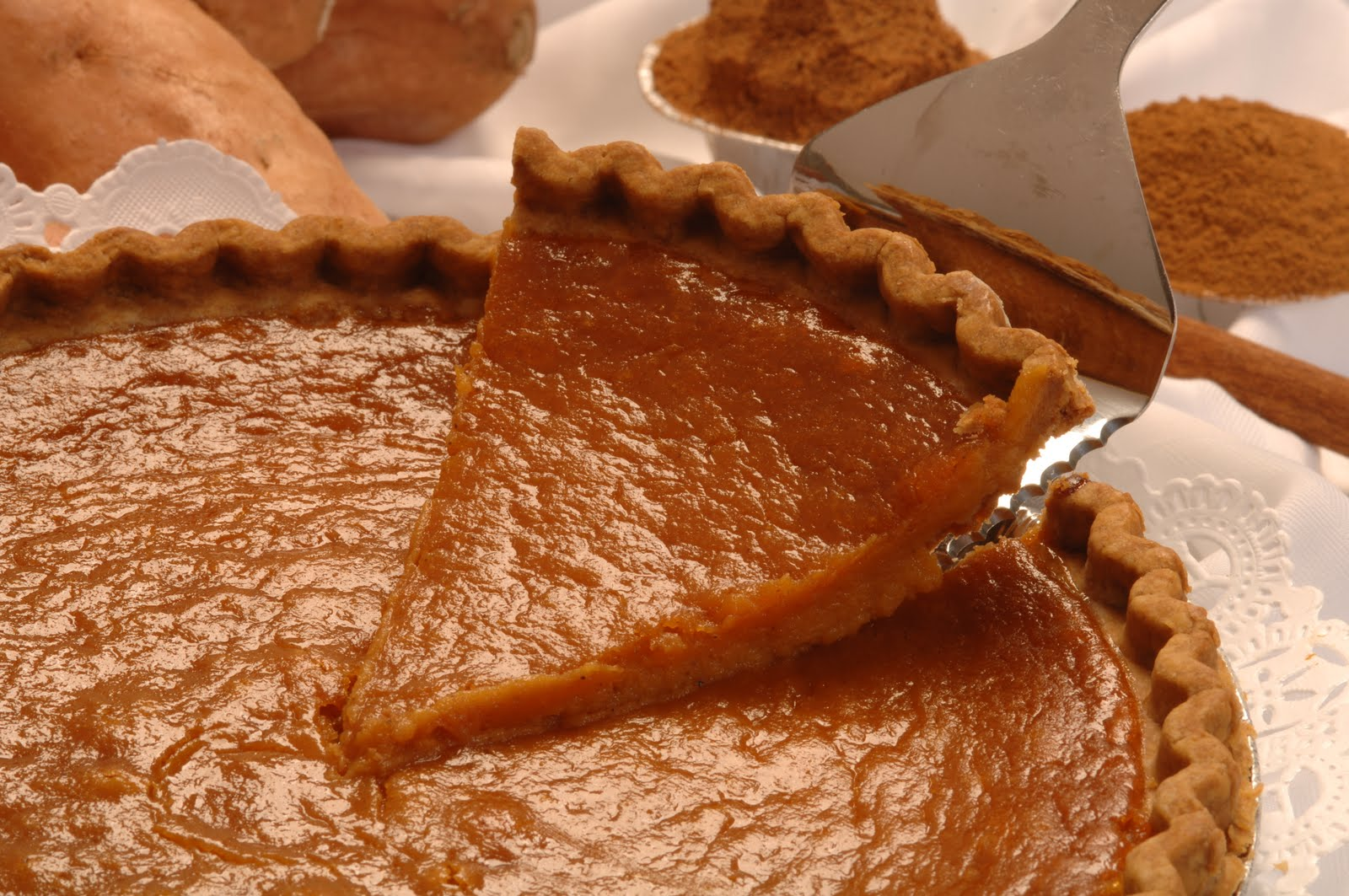 Sweet Potato Pie | ChefMarcChefMarc
